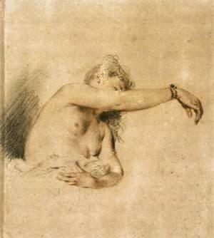 Nude with Right Arm Raised 1717-18