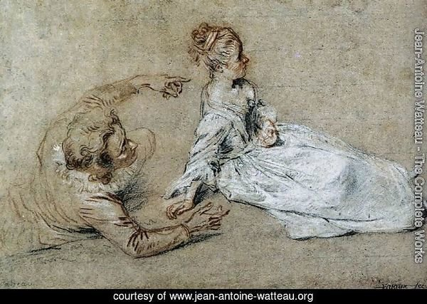 Sitting Couple c. 1716