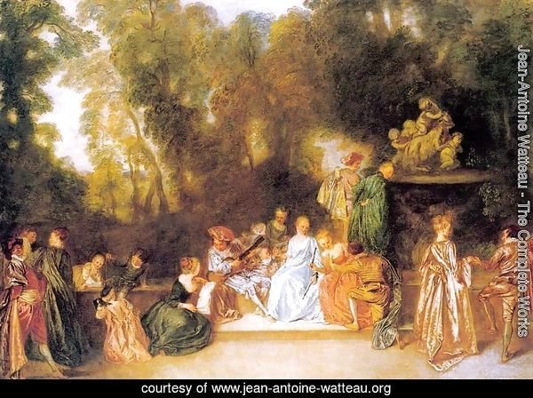 Entertainment in the Open Air 1721