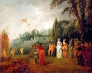Jean-Antoine Watteau - The Island of Cythera 1709