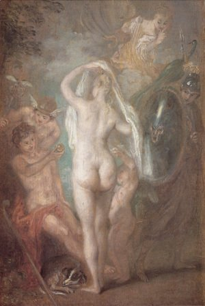 Jean-Antoine Watteau - Le Jugement de Paris (The Judgement of Paris)