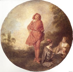 Jean-Antoine Watteau - L'Orgueilleux (The Proud One)
