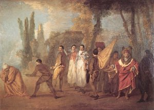 Jean-Antoine Watteau - Qu'ay-je fait, assassins maudits (Whatever I build, assassins destroy)