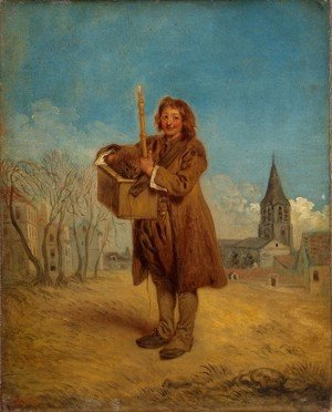 Jean-Antoine Watteau - The Savoyard with a Marmot