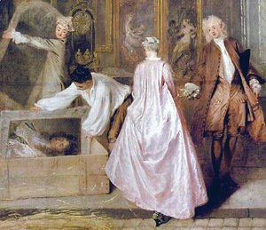 Jean-Antoine Watteau - Shop sign of the art dealer Gersaint