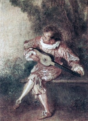 Jean-Antoine Watteau - The Serenate