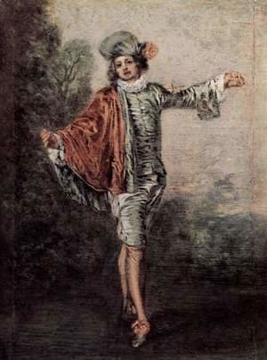 Jean-Antoine Watteau - The Casual Lover