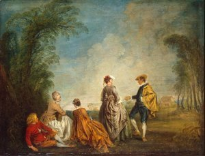 Jean-Antoine Watteau - An Embarrasing Proposal