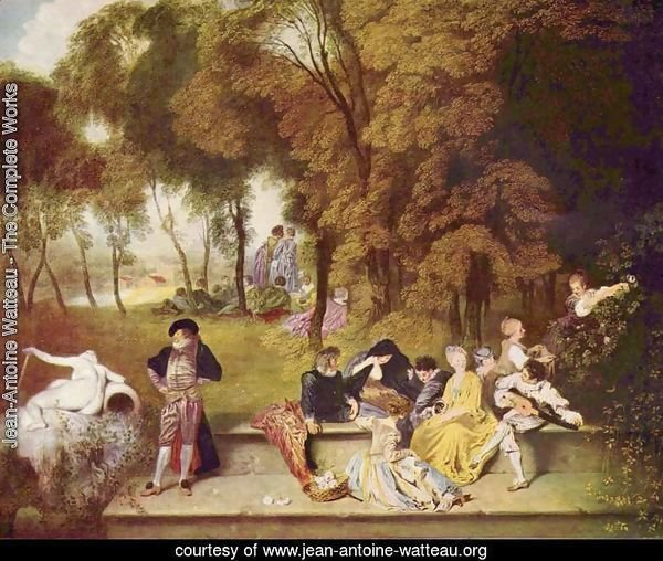 Merry Company in the Open Air 1716-19