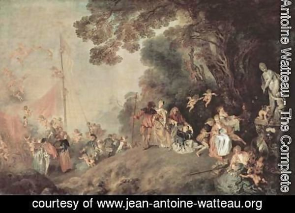 Jean-Antoine Watteau - Embarkation for Cythera